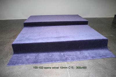 Opera Velvet 10mm - C15  300x400cm