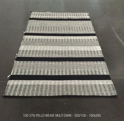 PELLO WEAVE - 500/100 - MULTI DARK Pattern - 160x280m