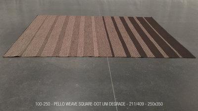 PELLO WEAVE - 211/409- SQUARE DOT UNI DEGRADE - 250x350cm