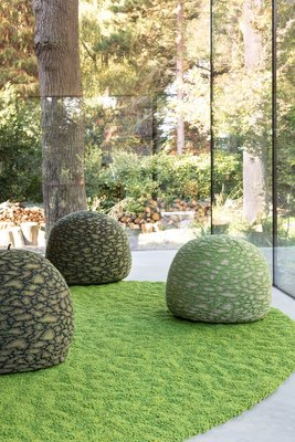 Earth - Moss - 200X200cm Round