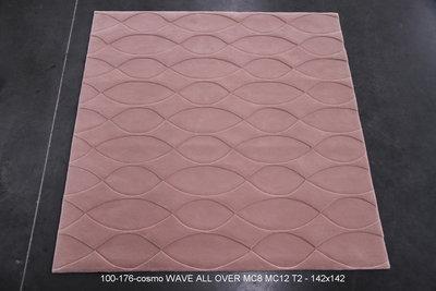 Cosmo Merino - Wave - T2 - 142x142cm