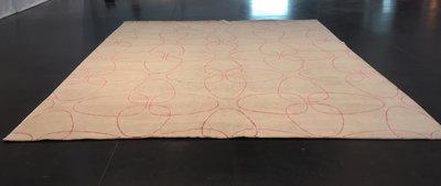Raja Silk Flower design - w.75/s.701 - 280x480cm